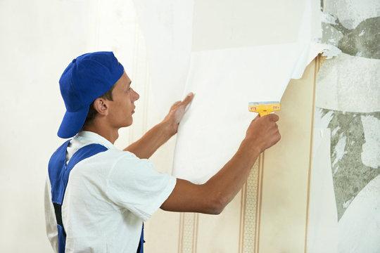 Alte Tapeten L?sen Entfernen : Mit Feuchtigkeit lassen sich alte Tapeten von der Wand l?sen www