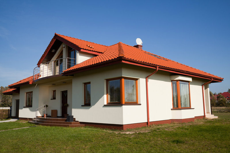 ein walmdach als moderne dachkonstruktion. Black Bedroom Furniture Sets. Home Design Ideas