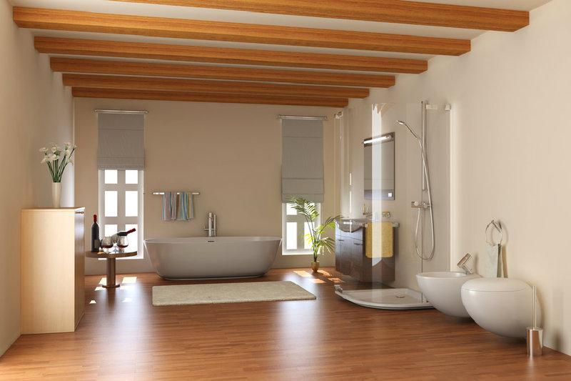 Holzboden für Ihr Badezimmer – Tipps bei www.bauwohnwelt.at | www ...