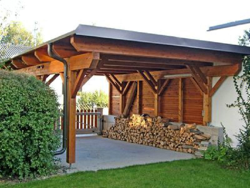 carport selber bauen worauf sie achten sollten www. Black Bedroom Furniture Sets. Home Design Ideas