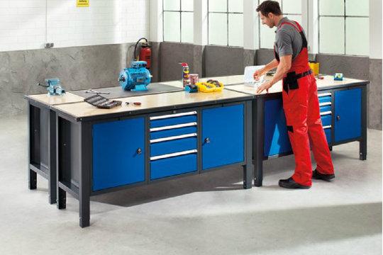 die hobbywerkstatt funktional einrichten. Black Bedroom Furniture Sets. Home Design Ideas