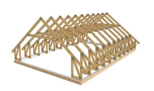 Favorit Binderdächer - Kosten sparen beim Dachstuhl | www.bauwohnwelt.at CN09