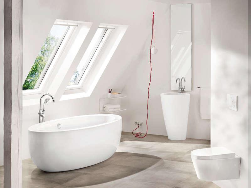 Die freistehende Badewanne – für Badezimmer mit dem gewissen ...